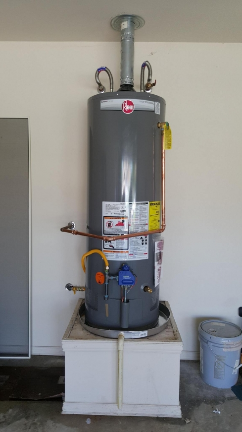 New Water Heater In Denton Texas Plumbing Projects And Tips