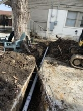 Sewer Line Replacement of Commercial Building in Fort Worth,