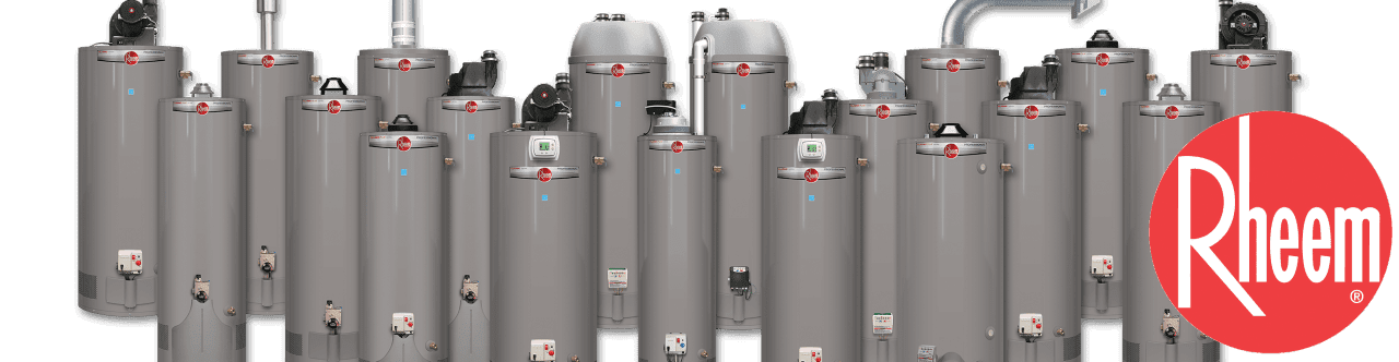 Rheem certified installer of tank water heaters and tankless water heaters in Fort Worth Texas