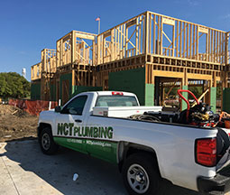 NCT Plumbing New Construction Homepage Image
